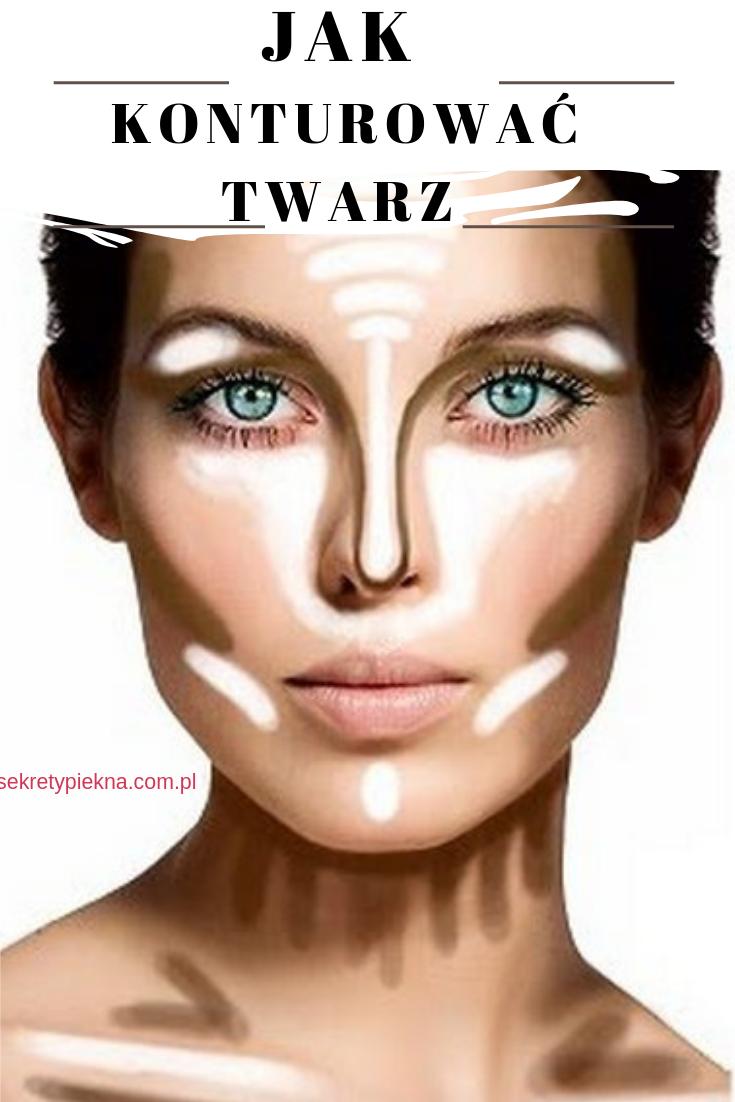 KONTUROWANIE twarzy - jak konturować i rozjaśniać twarz? |