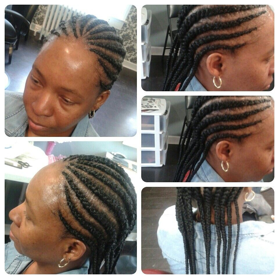 Styled by tonia coley cornrows pinterest cornrows