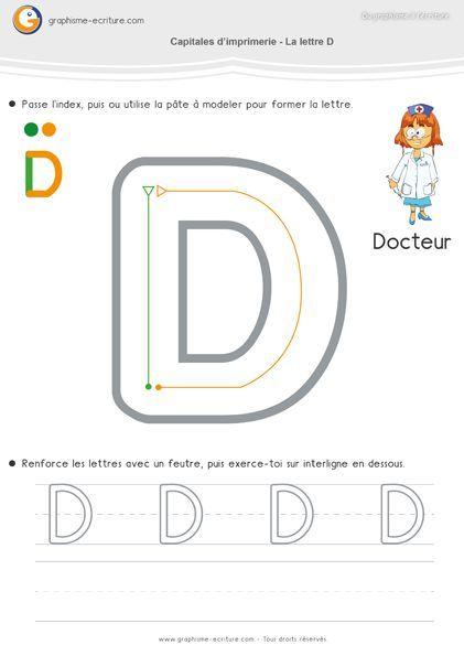 Famille des capitales droites et arrondies   Lettre a, Les ...