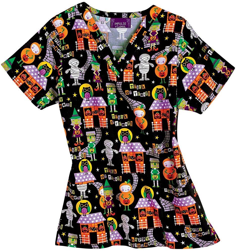 Scrubs - Bonita Scrubs 100% Cotton Costume Kids Scrub Top, Halloween ...