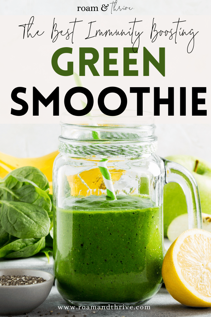 Immune boosting green smoothie