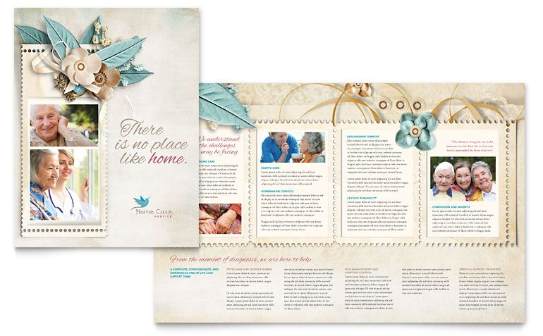 Hospice \ Home Care Brochure Design Oh! The Layouts Pinterest - medical brochures templates