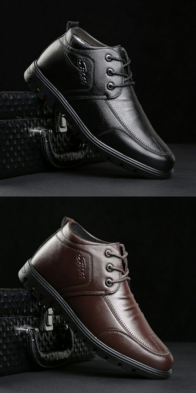 US $24.5 <Click to buy> Prelesty Office Men Dress Shoes