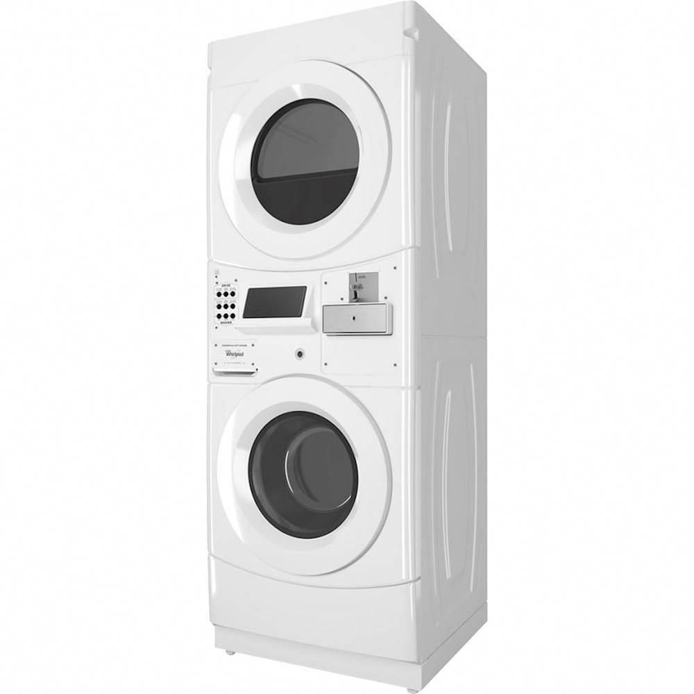 Whirlpool Commercial 3 1 Cu Ft 3 Cycle Washer And 6 7 Cu Ft 5