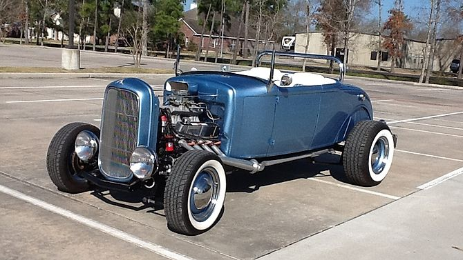 1930 Ford Roadster Street Rod 302 CI, Heidts Chassis