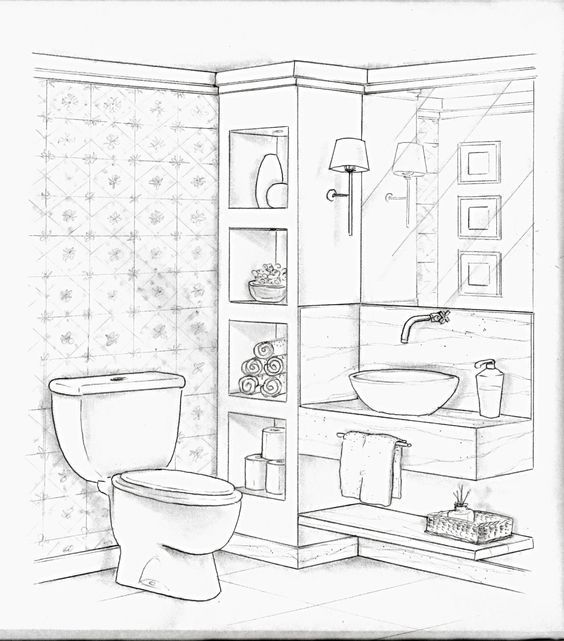 bef   aed drawing interior design sketches perspective sketch  drawings also how to draw point in this time lapse version of rh br pinterest