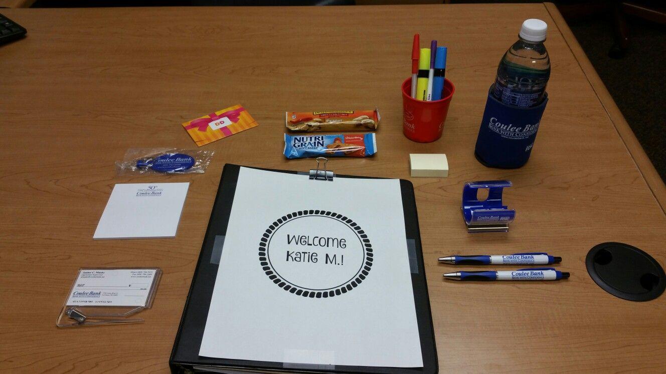 New employee kit! new employee, Employee