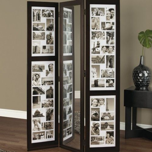 Hope i can get from my boo! JAKUP Floor Frame Collage w/ Mirror at ...