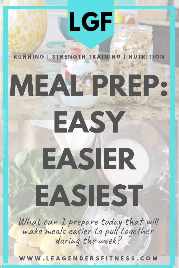 Meal Prep: Easy, Easier, Easiest | LEA GENDERS FITNESS
