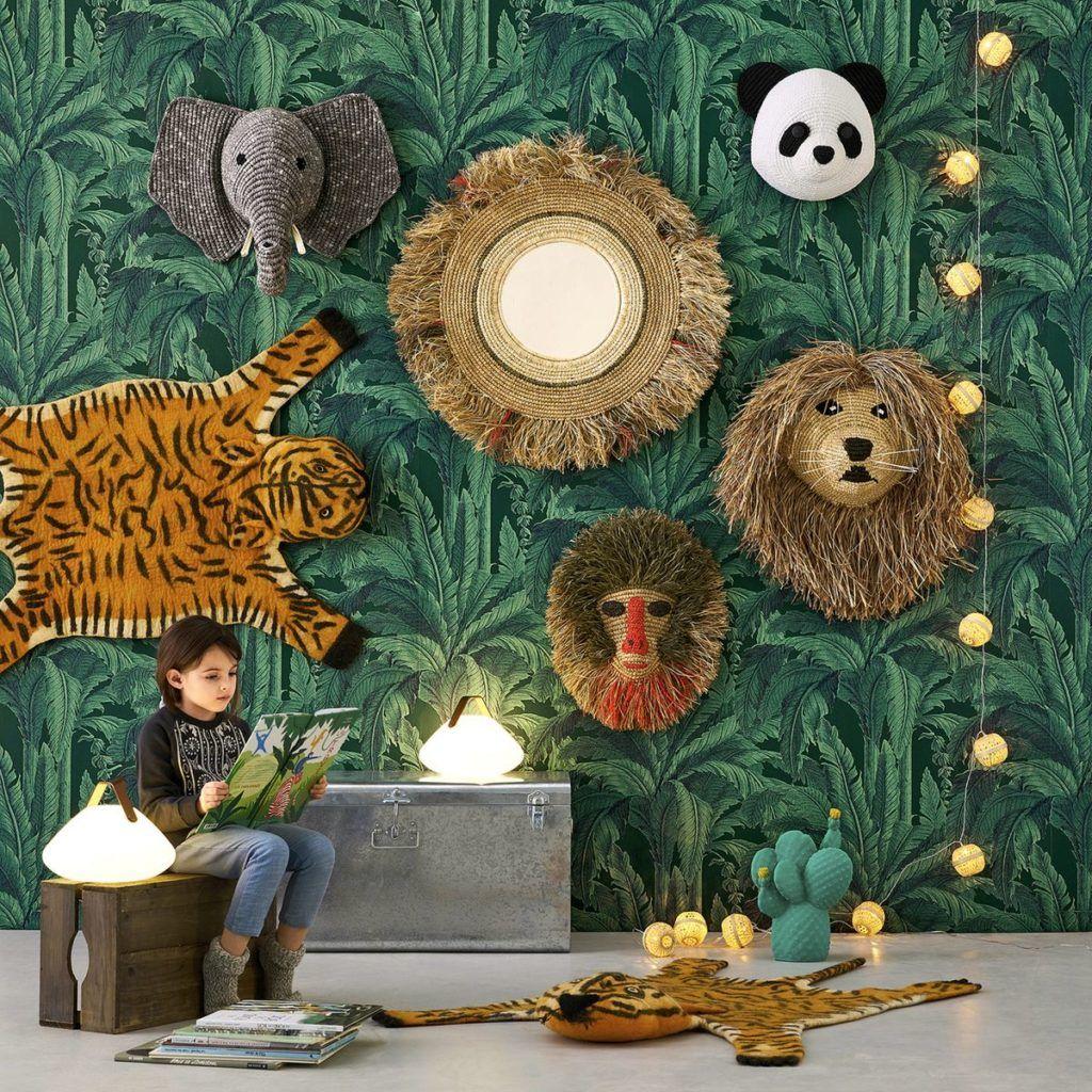 Deco Jungle Chambre Enfant idée déco chambre enfant : une chambre jungle - blog maman