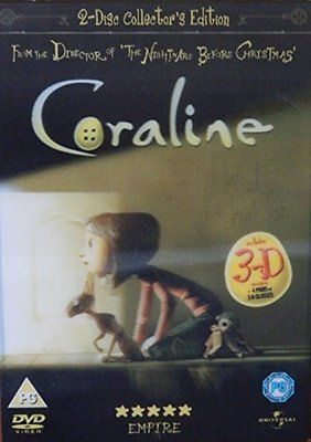 #Coraline 2 disc collectors #edition includes 3d #version - dvd  zovg,  View more on the LINK: http://www.zeppy.io/product/gb/2/391548832850/
