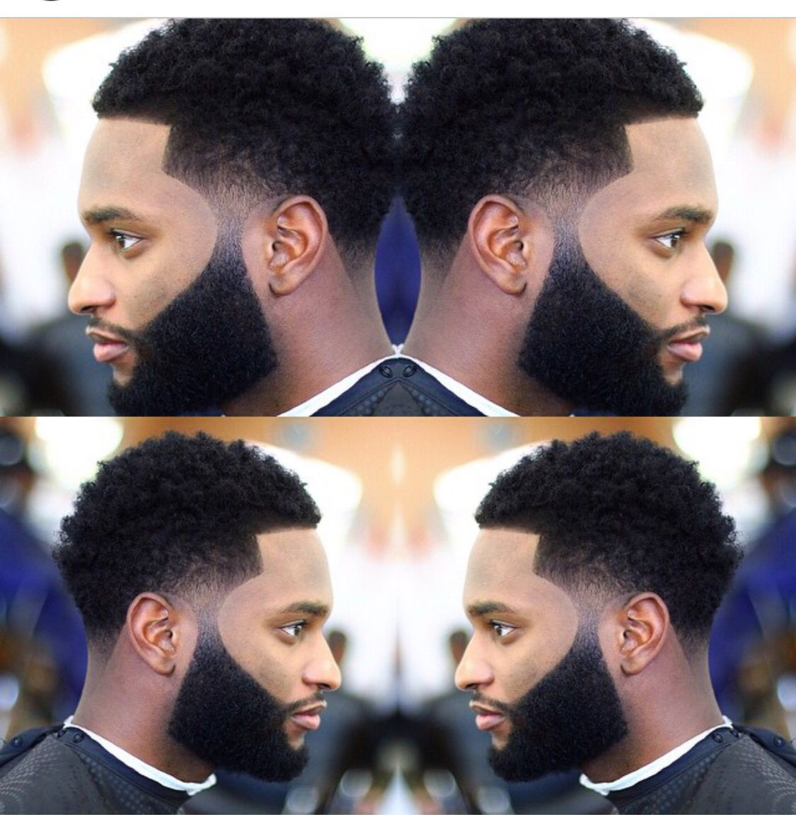 Taper Fade Ethnic Or Waves Cut  Mohawk Burst Fade Pinterest - Afro taper haircut