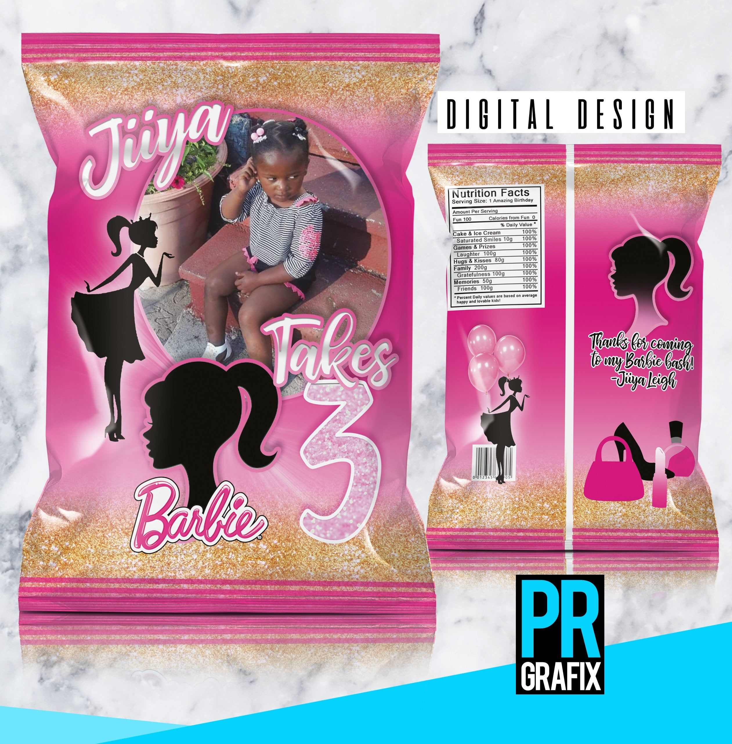 Featured Etsy Product in 2020 Barbie party, Barbie
