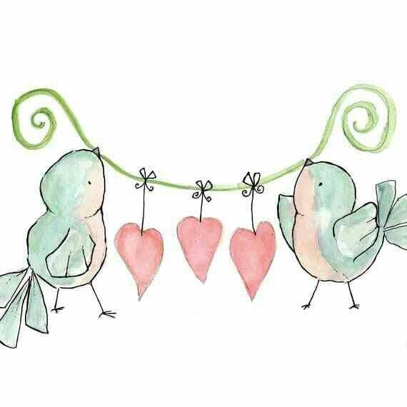 Happy Valentines Day Valentines Day 3 Pinterest Art Bird