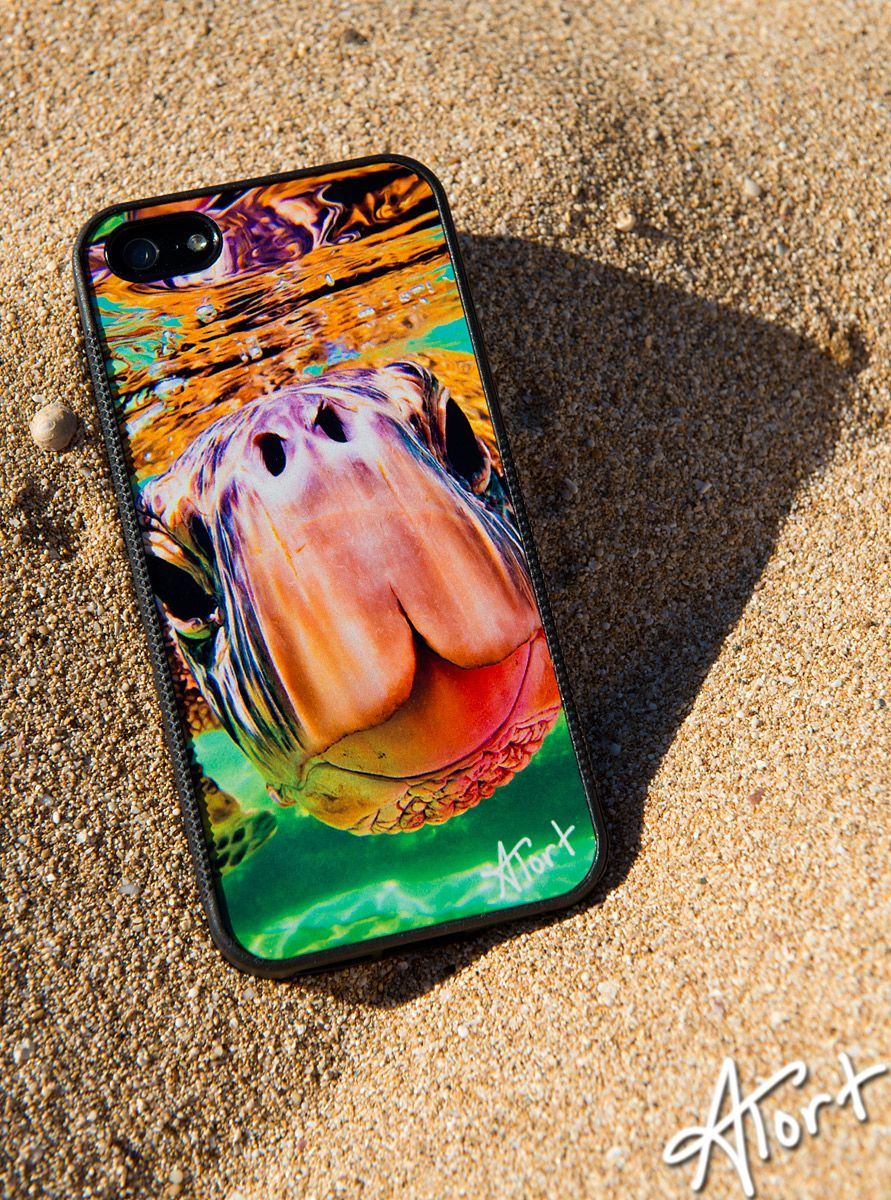A shot of a rough proof of another design coming out for my iPhone case line.  Aloha