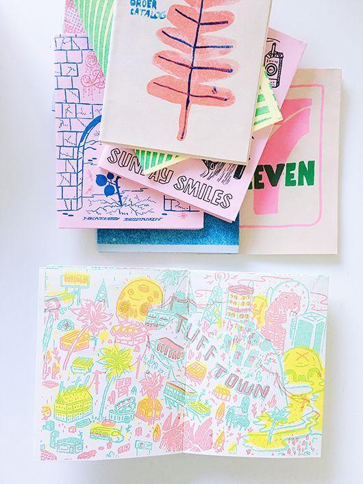 art books from the Los Angeles art book fair / sfgirlbybay