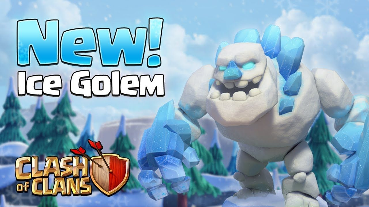 ICE GOLEM! New TH11 Troop (Clash of Clans) - YouTube