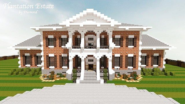 Image Result For Minecraft Plantation House