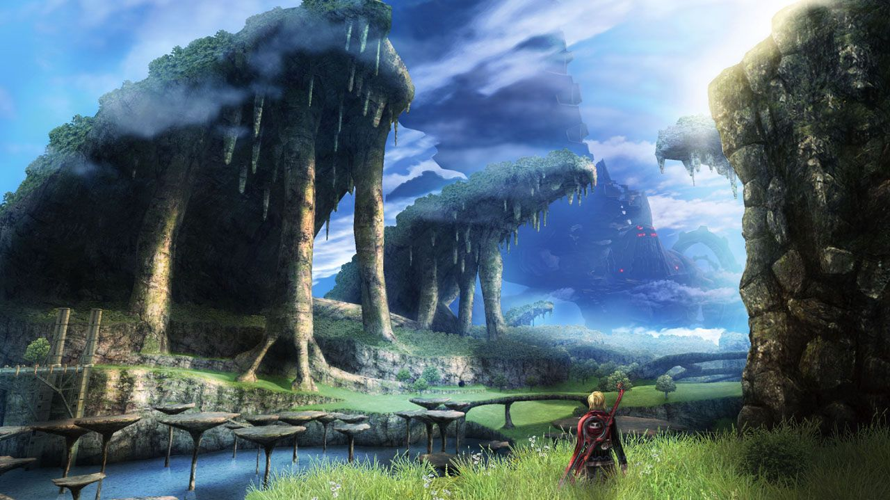 Xenoblade Imagery Xenoblade Chronicles Landscape Beautiful