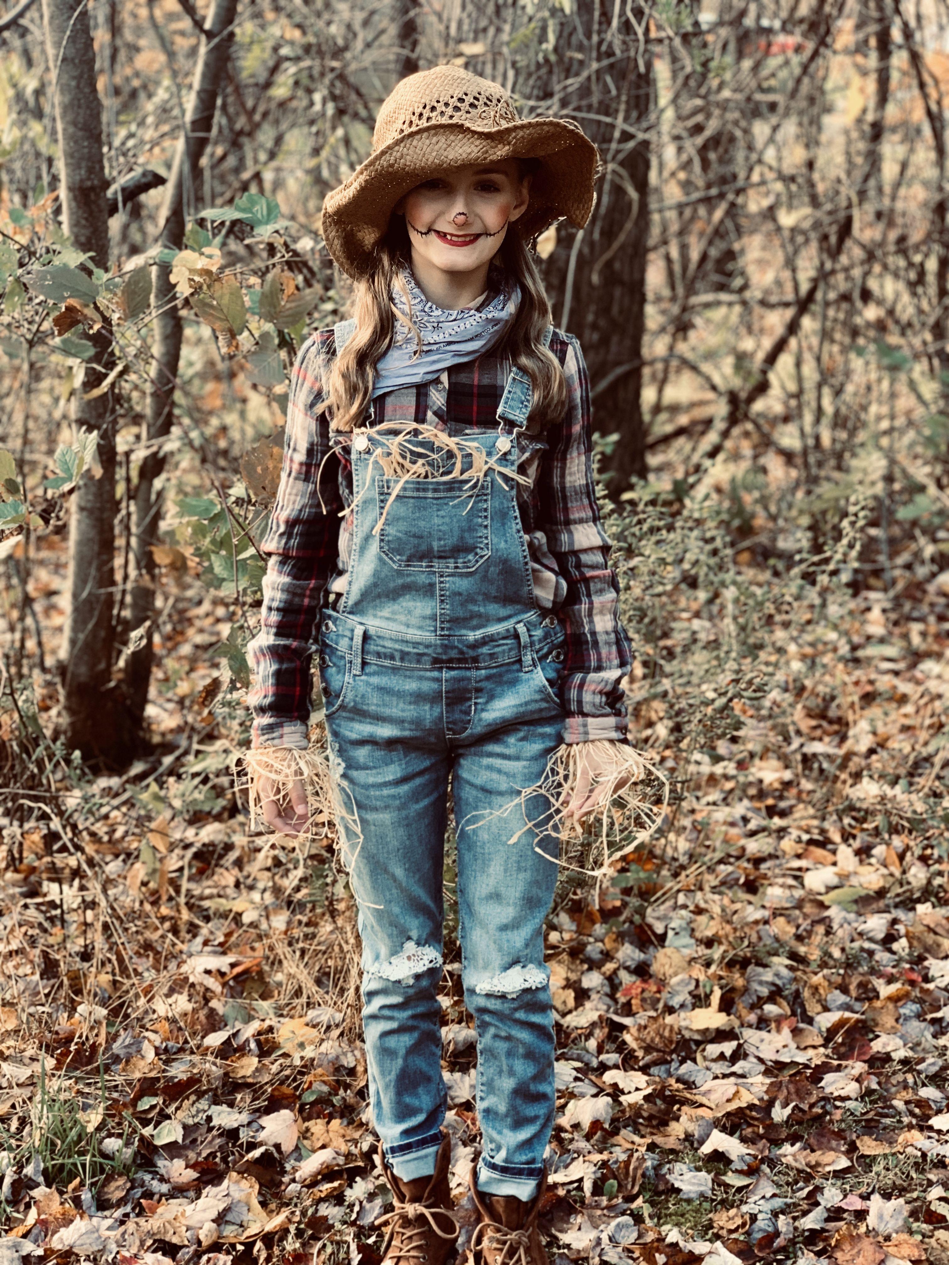Scarecrow costume #scarecrowcostumediy