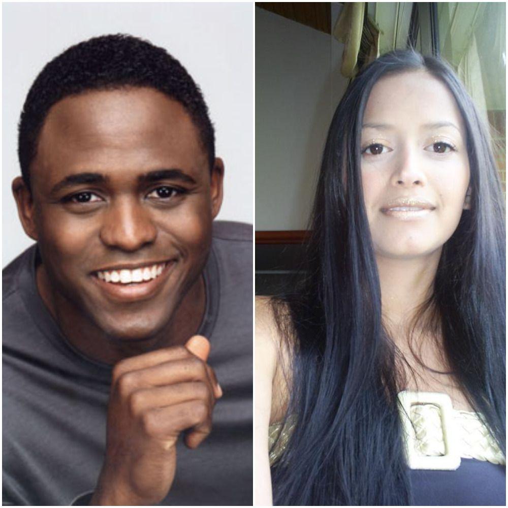 Diana Lasso and Wayne Brady