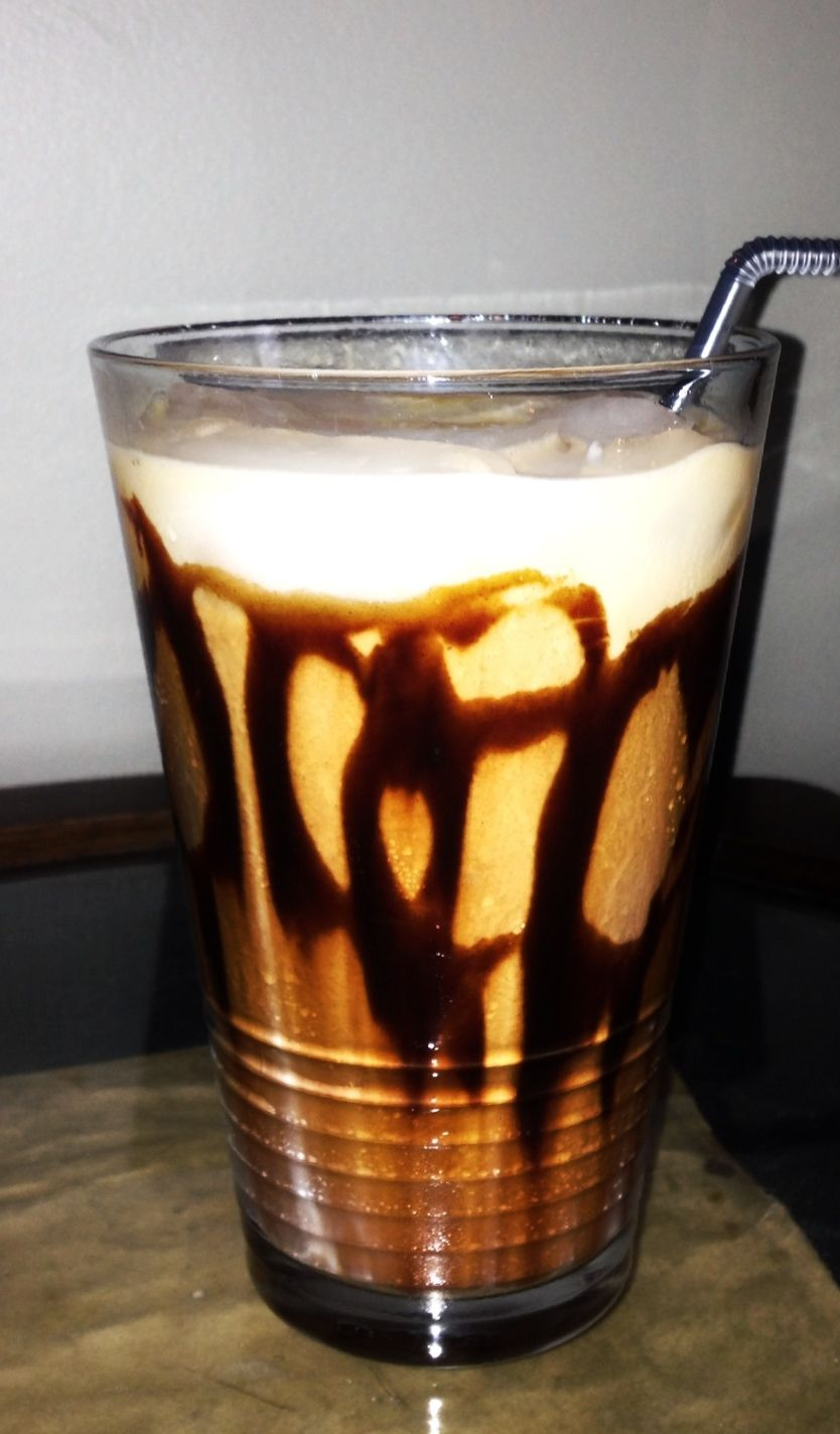 Homemade iced mocha latte food iced mocha mocha latte