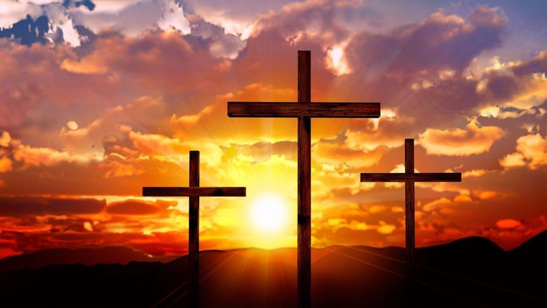 Three Crosses Jesus 4k Wallpaper Jesus Wallpaper Jesus Images