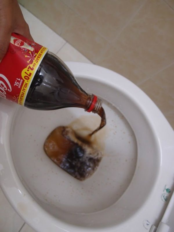 Cleaning Tips How To Clean A Toilet With Coca Cola Video