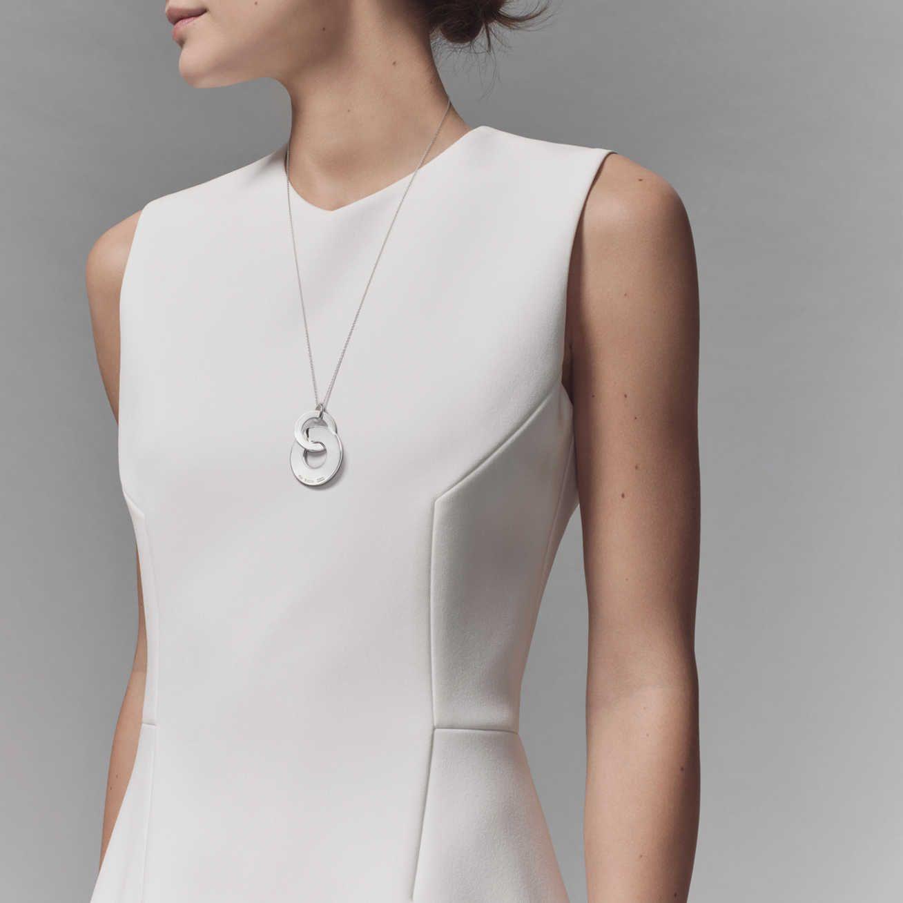 d3184b0d5 Tiffany 1837®:Double Interlocking Drop Pendant | I Might Buy | Mens ...