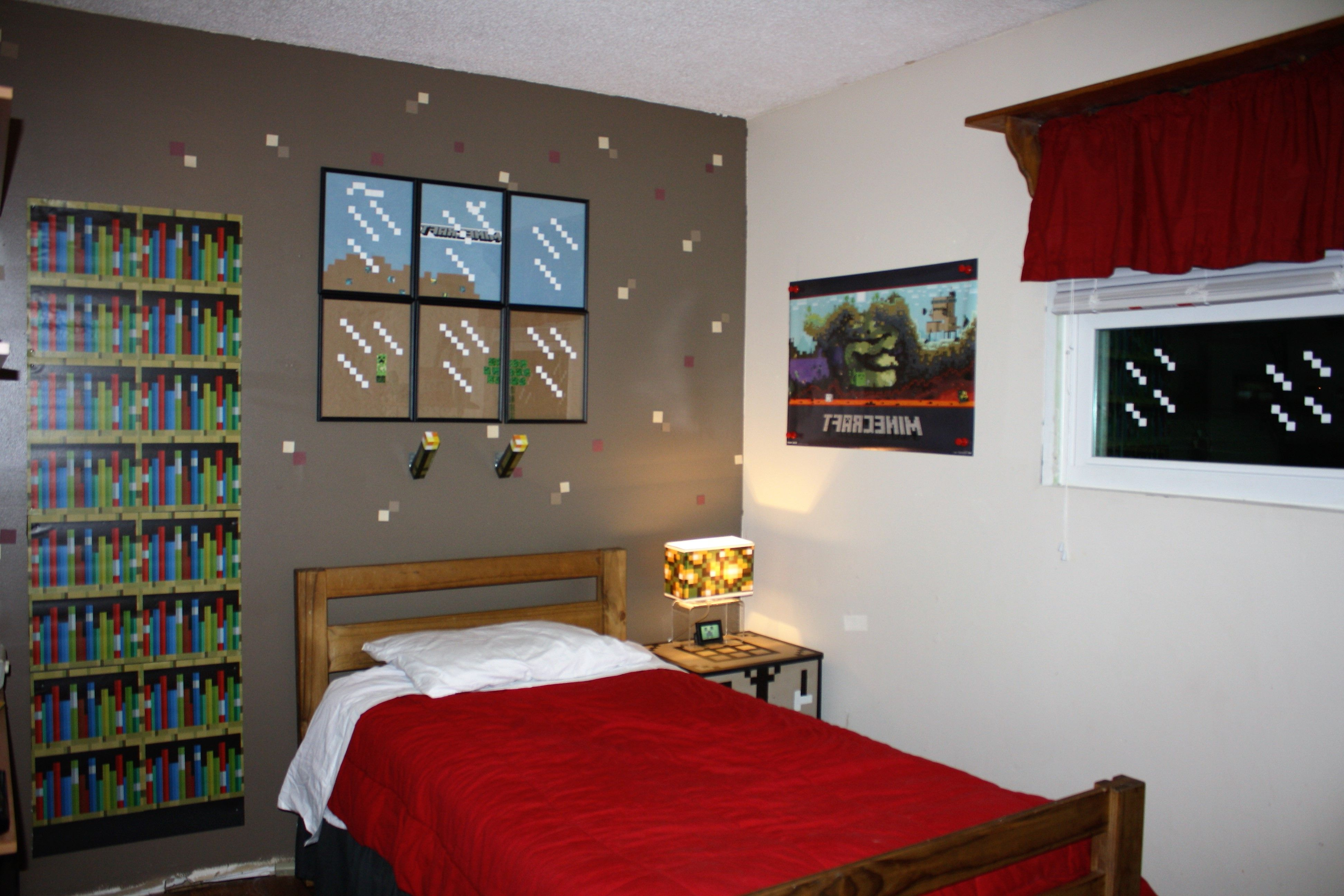Minecraft Design Ideas Pictures Remodel And Decor Minecraft Bedroom Decor Minecraft Bedroom Minecraft Room Decor