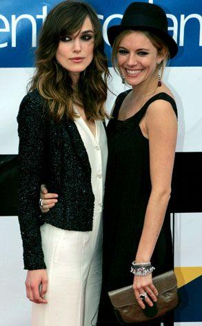 #766 Keira Knightley & Sienna Miller