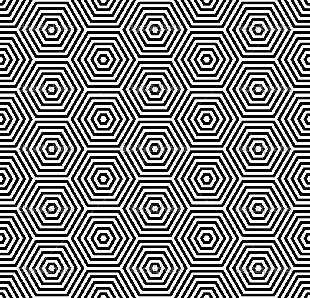 Geometric Patterns Hexagons Texture Seamless Geometric