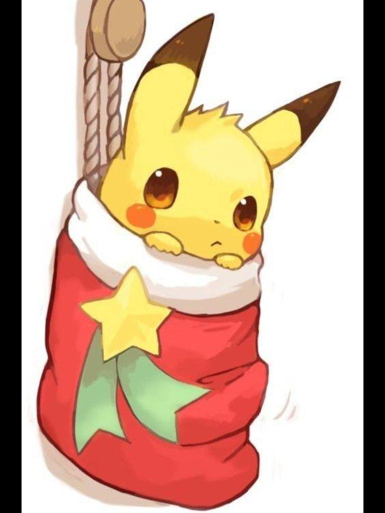 Pin by eternality yee on pikachu navidad pokemon dibujo de pikachu imagenes de pikachu - Dessin de pikachu ...