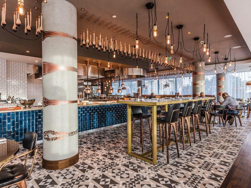 Focus Hilton Bournemouth Designcurial Bar Design Awards