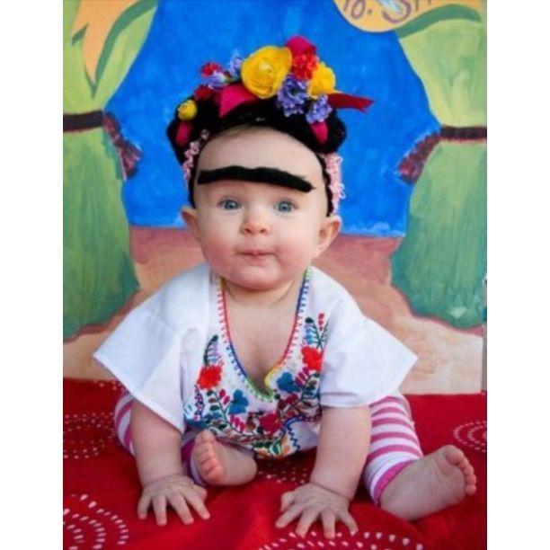 08c7dbc1375 Frida Kahlo Baby Costume // | BABY | halloween | Baby costumes, Baby ...