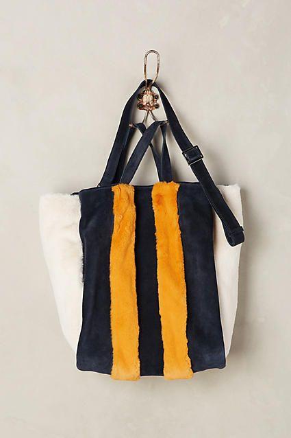 7ae188db177a Love Binetti Sally Striped Tote Bag