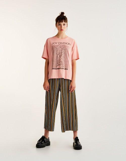 La Moda Me Enamora Pantalones A Rayas De Pull Bear Ropa Pantalon Rayas Trajes De Camiseta