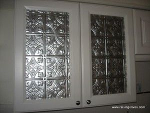 Glass Front Cabinet Makeover With Images Glass Front Cabinets Door Makeover Kitchen Cabinet Doors