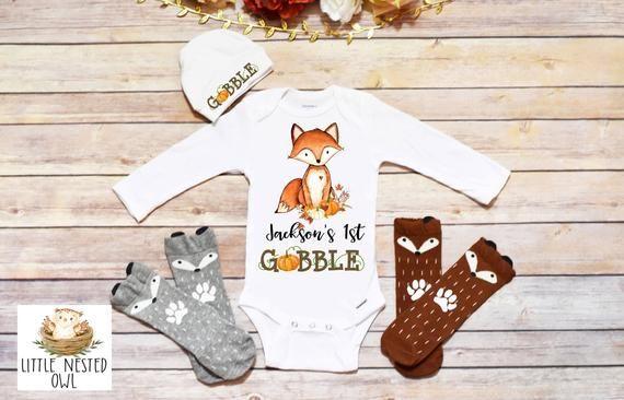 First Thanksgiving Onesie, Fall Onesie, Thanksgiving Onesie, Thankful Onesie, Thanksgiving Shirt, Ba