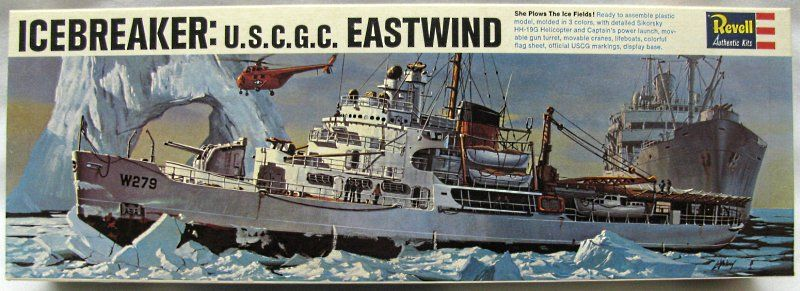 Revell 1/285 US Coast Guard Icebreaker Eastwind (USCG), H453-