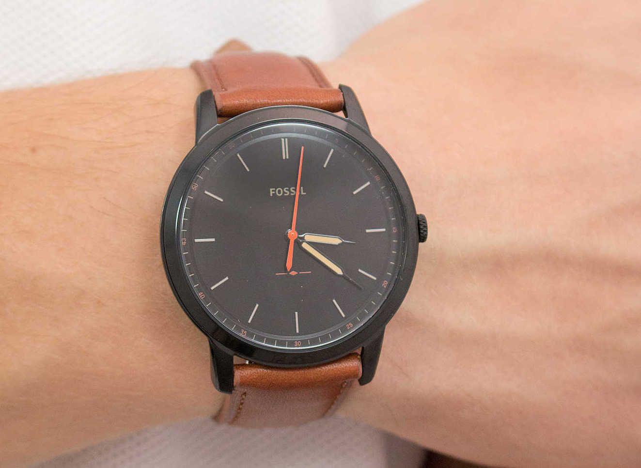 Fossil Gen 5 Smartwatch The Carlyle HR Watch