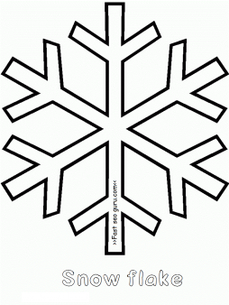 Free printable make a snowflake out of paper easy for kids