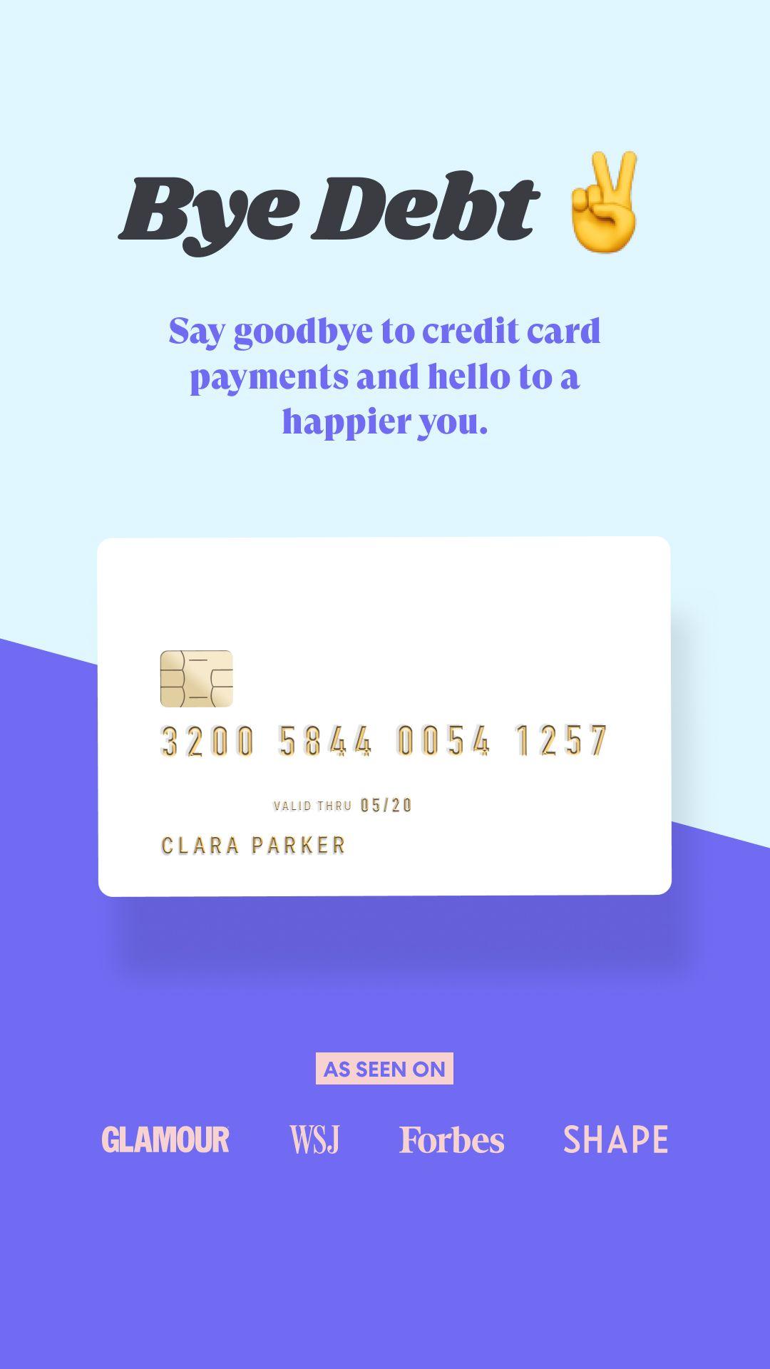 Pin On Goodbye Credit Card Debt