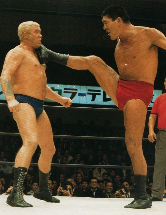 Giant Baba - 16文キック | Wwe legends, Pro wrestling, Professional ...