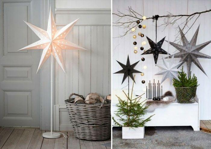 Weihnachtsschmuck im skandinavischen Stil - 46 Ideen, wie Sie das Zuhause zu Weihnachten dekorieren #thanksgivingdecorations