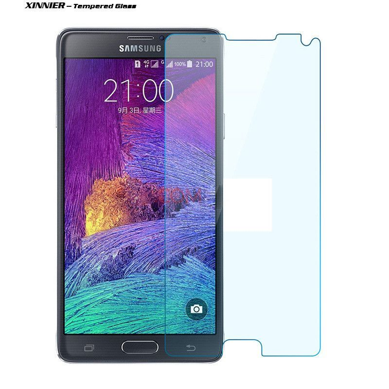 Ultra thin 0.3mm Tempered Glass for samsung galaxy note4 screen protector Front Ultra Clear Film for samsung galaxy note 4 case