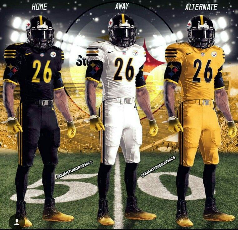 0b94760d222 Steelers concept Jersey | Pittsburgh Steelers | Nfl steelers ...