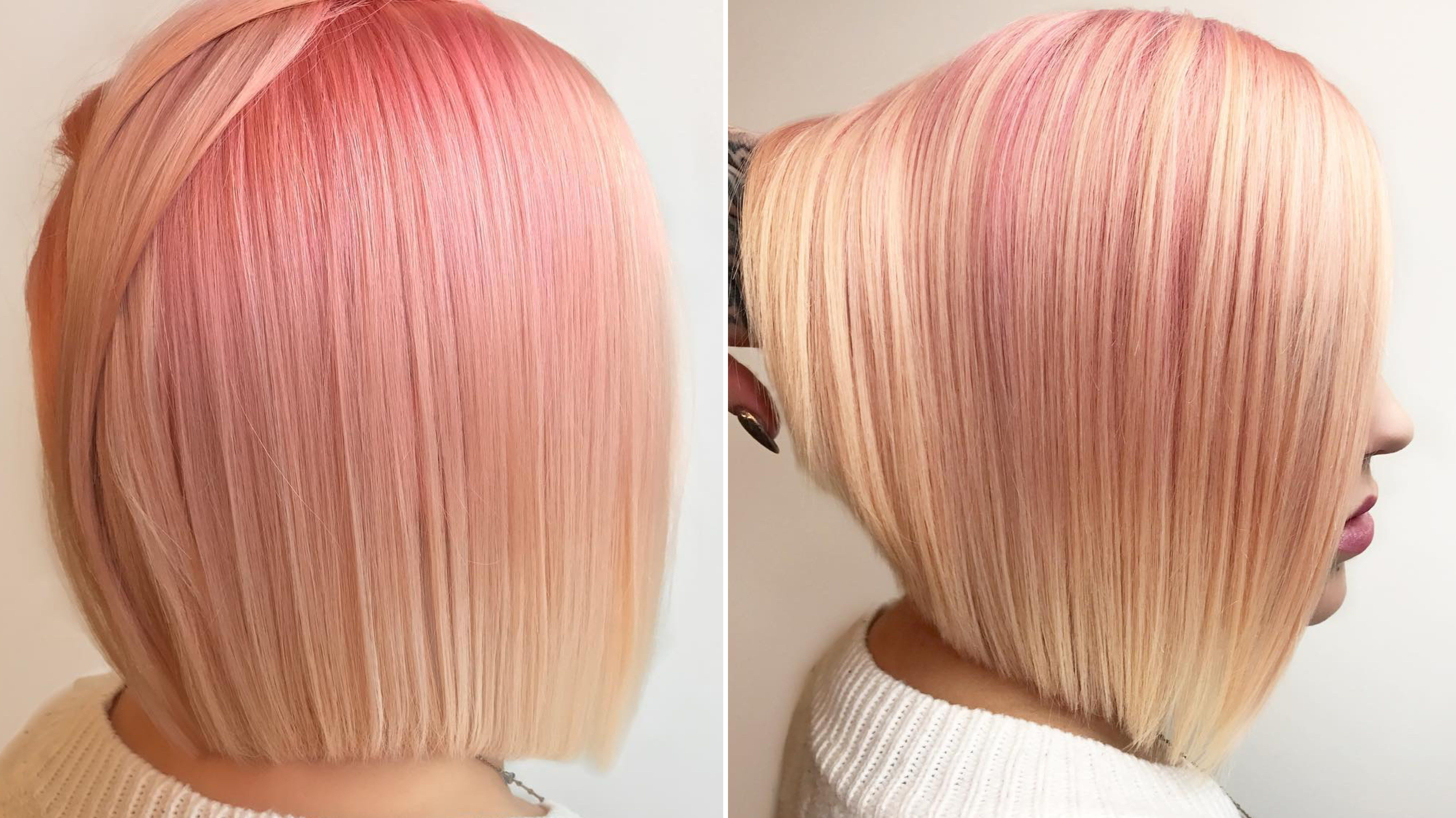 Buttered rose gold is the fresh new haircolor trend on instagram