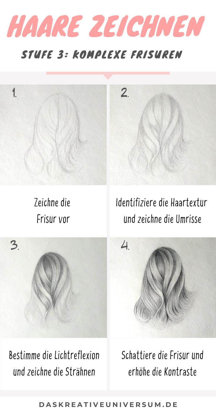 Photo of Haare zeichnen Teil 3: Komplexe Frisuren