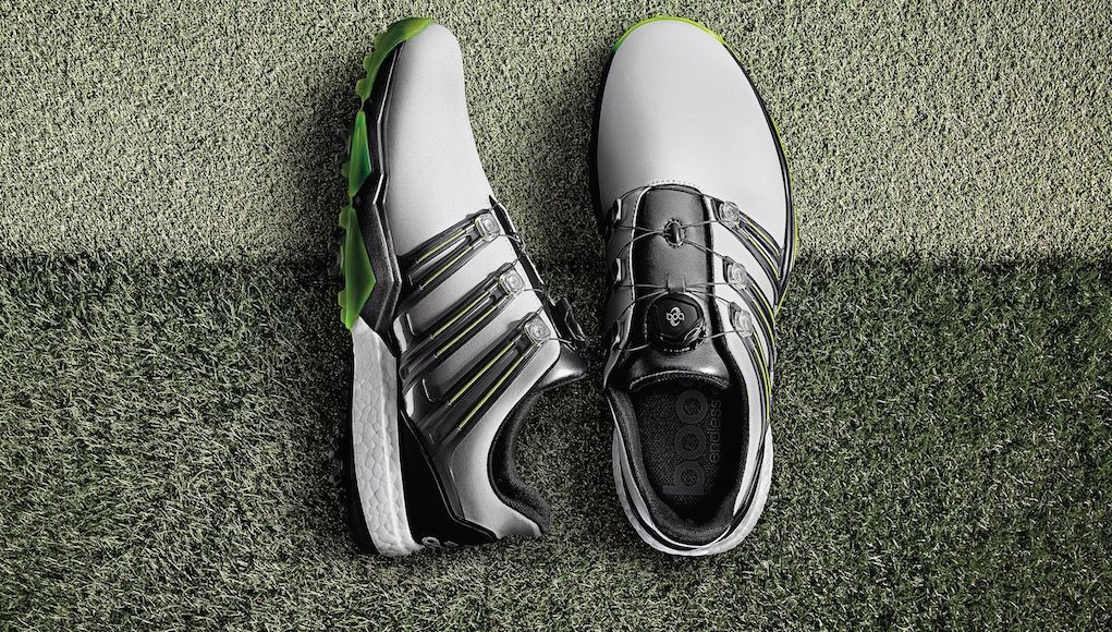 Power Players Adidas Powerband Boa Boost Golf Shoes Golfwrx